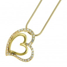 Pendant Expression gold crystal