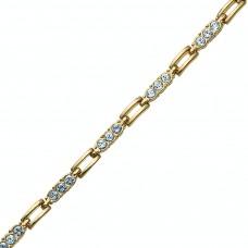 Bracelet Elements gold crystal