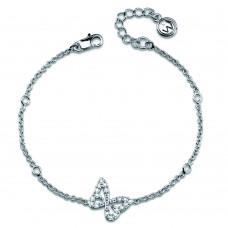 Bracelet Dally rhod. crystal