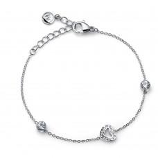 Bracelet Love Steel crystal